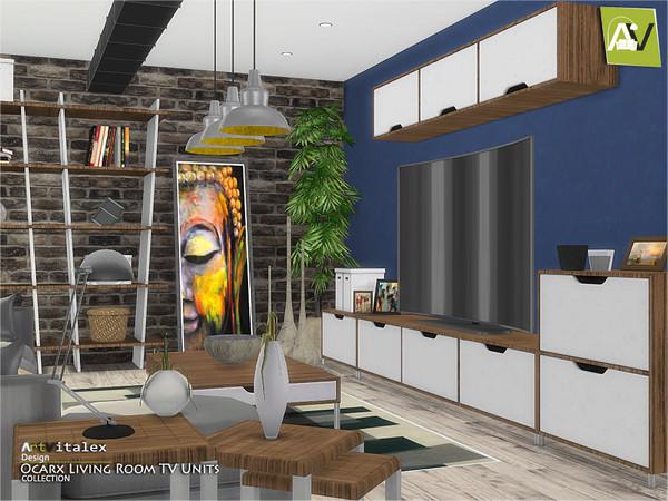 Ocarx Living Room TV Units