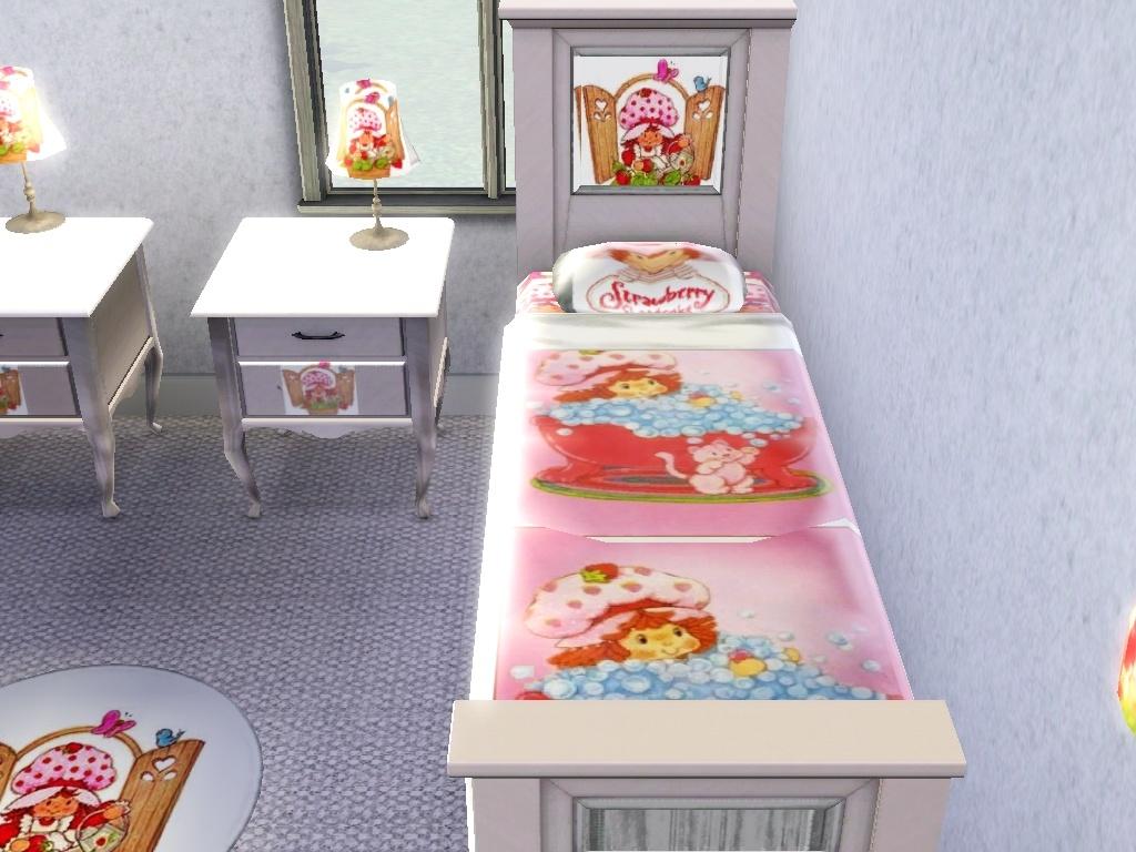 . Strawberry Shortcake Bedroom set   coming soon