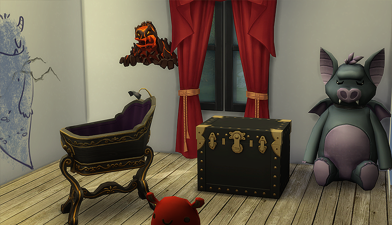 New Game Pack Sims 4 Vampires - Make-your-room-look-like-a-vampires-room