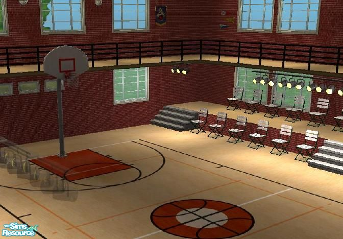 mighty female s basketball court