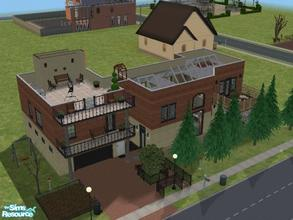 Sims 2 — Modern & Traditional by ianbradley26 — Modern loft with traditional styling. Only minor additions of cc