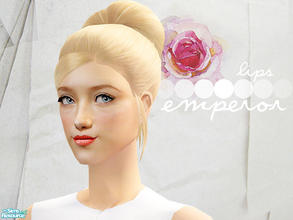 Sims 2 — Emperor Lips by lemonloveshane — The Emperor Lipsticks were inspired by different lip colors at various