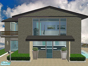 Modern houses in sims 2