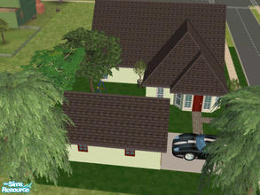 Sims 2 — 35 Chickory Way by Cali95678 — Small 3x2 lot house with 2 bedrooms and a nursery, 2 bath. A den that can be