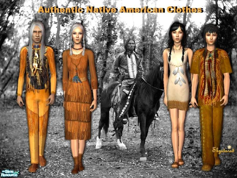 authentic native american clothing for women sims skystars5s authentic native american clothes