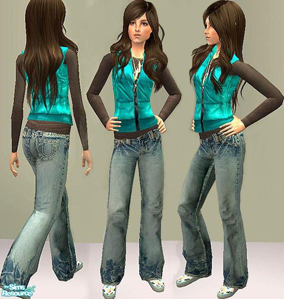 openhousejack's Openhouse TF Vest Baggy Jeans Upgrade ...