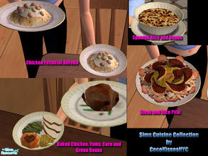 the sims 2 downloads food