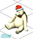 Sims 1 — Holiday Bear by frisbud — Graphics by Maxis from The Sims Online. Adapted for The Sims by Peter of Atelier