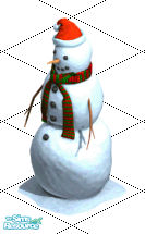 Sims 1 — Joinable Snowman by frisbud — Graphics by Maxis from The Sims Online. Adapted for The Sims by Peter of Atelier