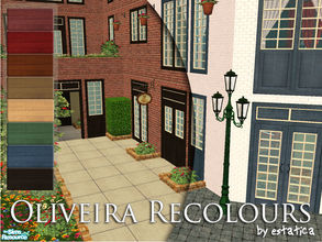 Sims 2 — Oliveira Recolours by estatica — 8 new colour schemes for the Oliveira Set. Each recolour affects all the items