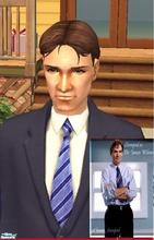 Sims 2 — Dr James Wilson - House MD by Zlotyl — This is my version of Dr James Wilson from House MD