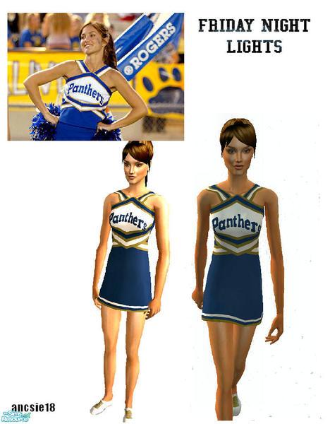 1c11fec6c032c ancsie18 s FNL Dillon Panthers Cheerleader Suit