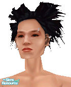 Sims 1 — Metalheads: Female 1 by Downy Fresh — For my fellow metalhead gamers :) Lgt tone only