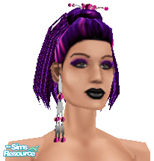 Sims 1 — Metalheads: Female 6 by Downy Fresh — For my fellow metalhead gamers :)