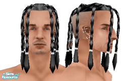 Sims 1 — Metalheads: Male 3 by Downy Fresh — For my fellow metalhead gamers :)