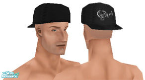 Sims 1 — Metalheads: Male 6 by Downy Fresh — For my fellow metalhead gamers :) Features a labret piercing and Opeth logo