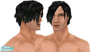 Sims 1 — Metalheads: Male 7 by Downy Fresh — For my fellow metalhead gamers :)