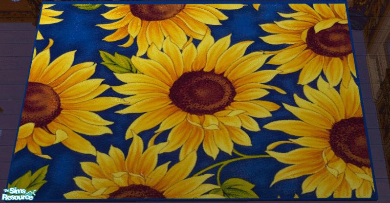 Sunflower Area Rug Roselawnlutheran