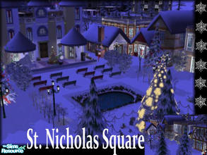 Christmas / Downloads / Sims 2 / Lots / Business Lots