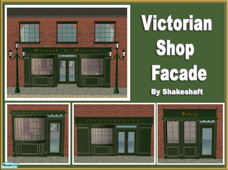 Shakeshaft S Victorian Shop Facade