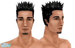Sims 1 — Metalheads: Male 8 by Downy Fresh — For my fellow metalhead gamers :)