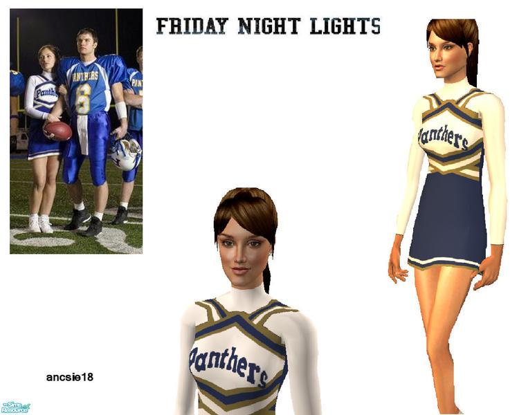 4d82e6d34880e ancsie18 s FNL Dillon Panthers Winter Cheerleader Suit