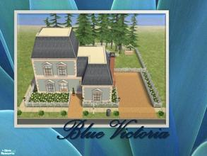 Sims 2 — Blue Victoria by Ariana31Player — A cute little home. Enjoy!!