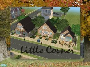 Sims 2 — Little Corner by Ariana31Player — A little lot with a grocery store and a small boutique. Enjoy!!