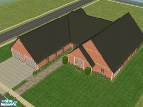 Sims 2 — #101003 by brittie — A cozy little single floor home. Features: Master suite with sitting area, combined kitchen