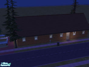 Sims 2 — Mover Lane by Cali95678 — Rustic 1 bedroom, 1 bath starter home with truck. All Maxis content. Bedroom can be