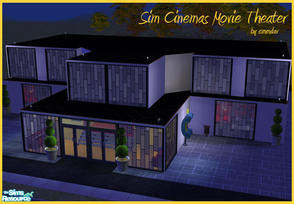 Sims 2 Downloads Movie Theater