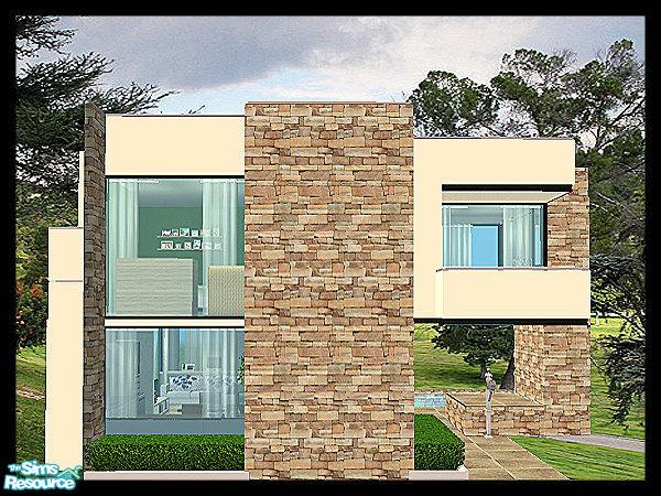 kissme87s Small Modern House
