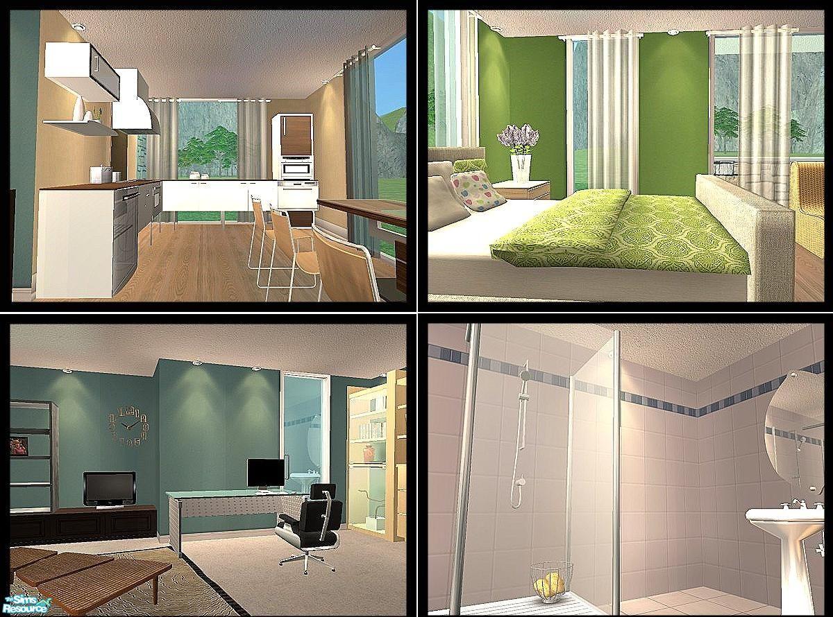 the sims 3 simple modern house Modern House