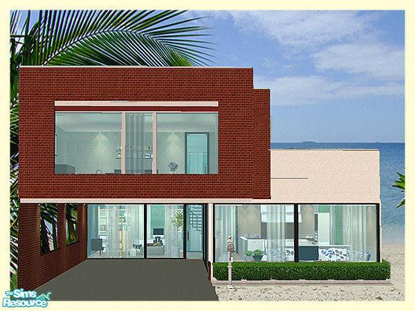 kissme87s Small Modern House 3