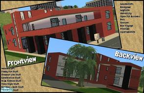 Sims 2 — Modern Apartments, No CC by Angela — Today i bring you my Modern Apartments, there are 8 apartments in the