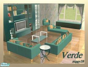 Awesome Verde Living Room Suite Part 13