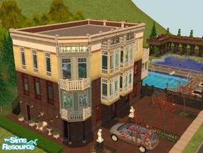 Sims 2 — Art Deco Apartments by ianbradley26 — If your sims have a taste for old urban days that suit today, then you\'ll