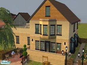 Sims 2 — New Orleans Townhome Updated by ianbradley26 — An older version still sits somewhere on this site, but this one