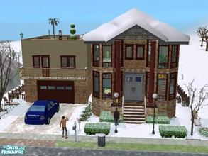 Sims 2 — Maxis City House Updated by ianbradley26 — Well, let\'s just say there\'s much more to a house like the Maxis