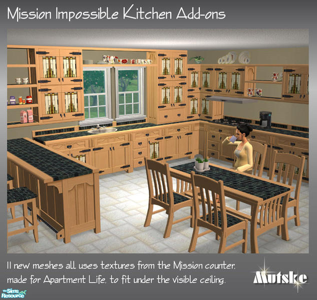 Kitchen Impossible Punkte: Mutske's Mission Impossible Kitchen Add-ons