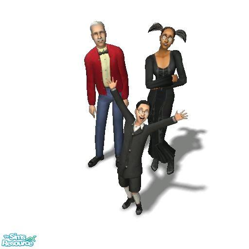 Moza's Goth Family