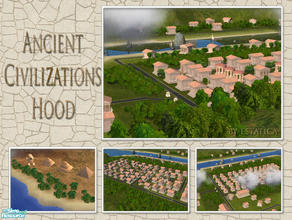 Sims 2 — WWT- Ancient Civilizations    by estatica — Created for the World Without Time - Ancient Civilizations theme,