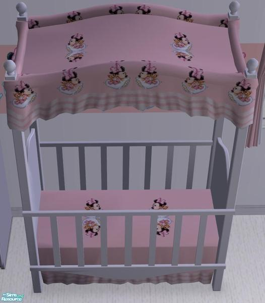 ale0508's Minnie Mouse Baby Crib Canopy