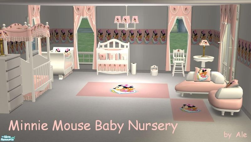 Minnie Mouse Baby Nursery