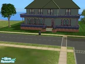 Sims 2 — Metuchen Home by themcgfamily — A unfurnished town home.