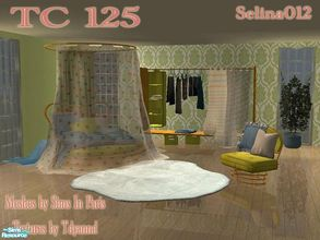 Sims 2 — TC125 - Teen Dream Bedroom by selina012 — Created for the texture challenge 125. Meshes from Sims in paris. Make