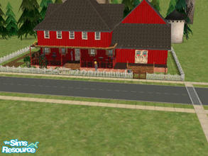 "Sims 2 — Countryside Home/Business by themcgfamily — A lovely country home that is decorated with ""Seasons\"""