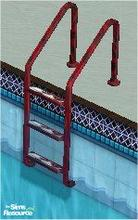 Sims 2 — tams tc 126 pool set - Ladder For Tc 126 (200) by tambriah — eating cherries steps with red tiger stripe hand