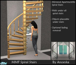 Sims 4 Spiral Stairs