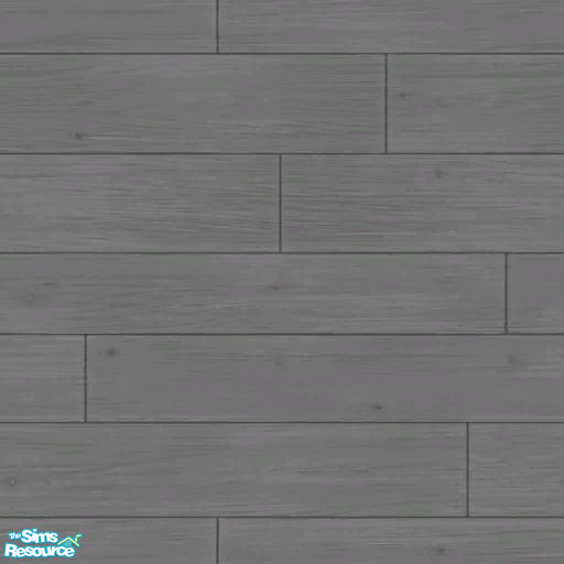 Gray Plank Wood Floor